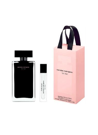 Narciso Rodriguez For Her EDT 100 ml + EDP 10 ml Kadın Parfüm Seti Renksiz